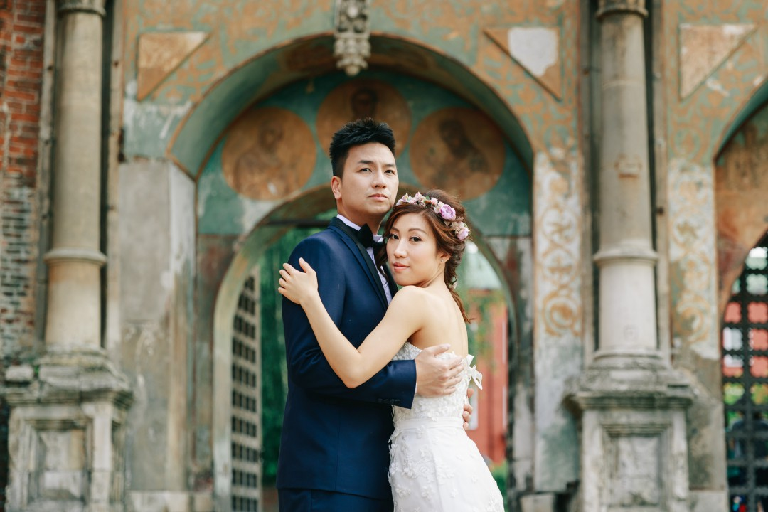 Prewedding photography in moscow and st petersburg russia for chinese couple