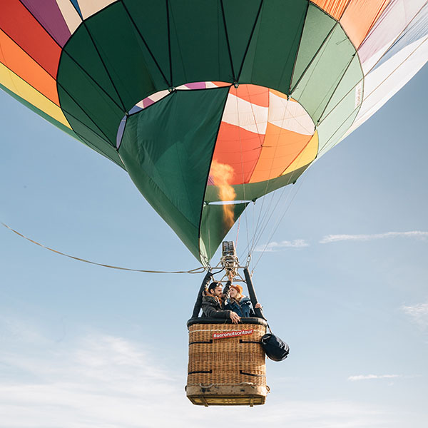 Hot Air Balloon Adventure Engagement  - WPPI 2nd Place Award 2017 - Best Engagement Album