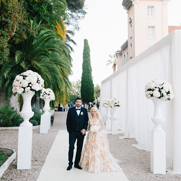 St Georges Villa, Grasse, France Destination Wedding